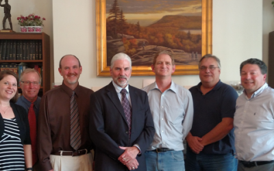 NYS GIS Association Meets With NYS Association of Professional Land Surveyors