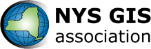 New York State GIS Association Logo with black text
