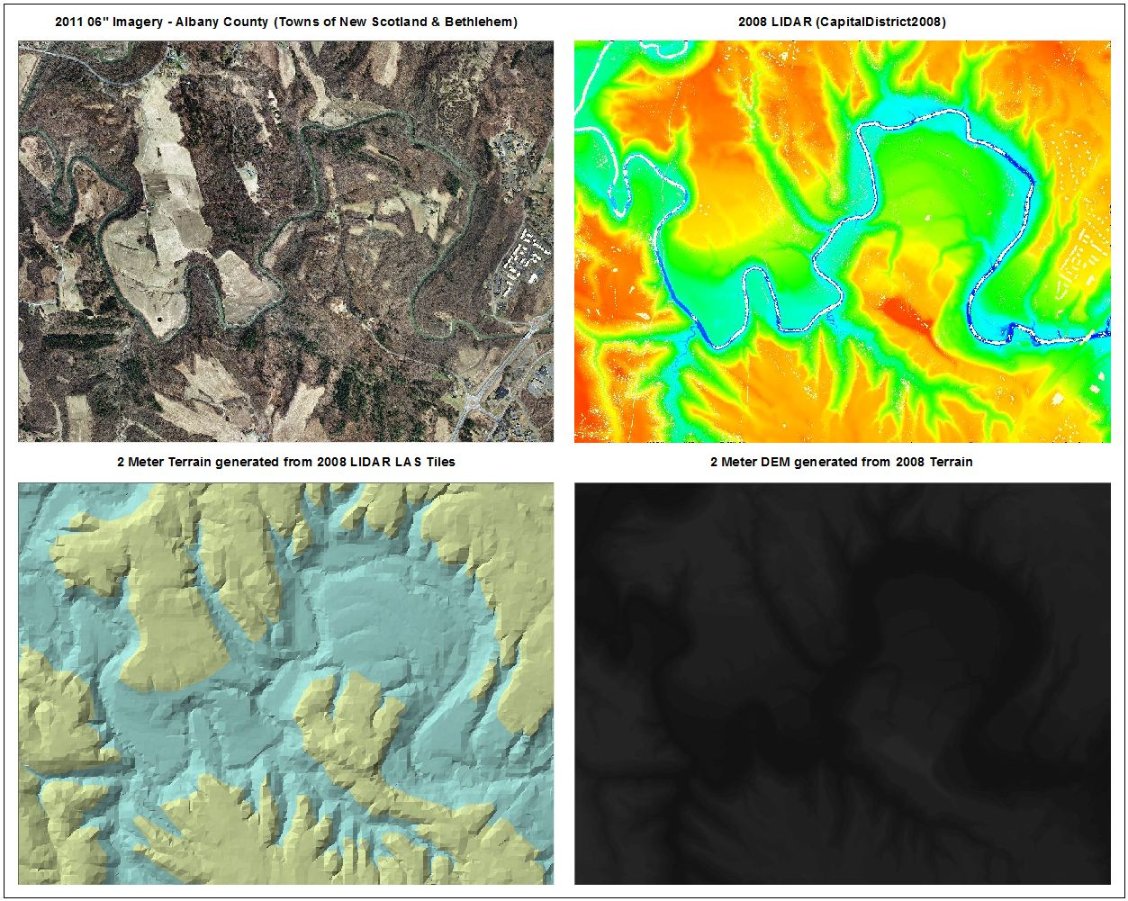 Digital Elevation Models Now Available For Download NYS GIS - Map with elevation data