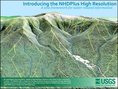 Hydrography Seminar May 23: Introducing NHDPlus HR