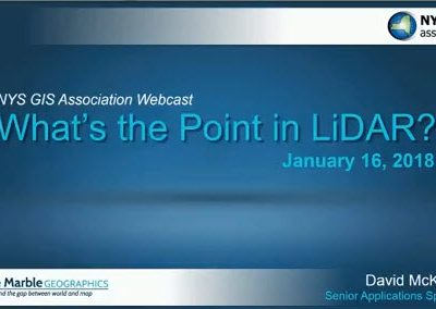 What's the Point in LiDAR?