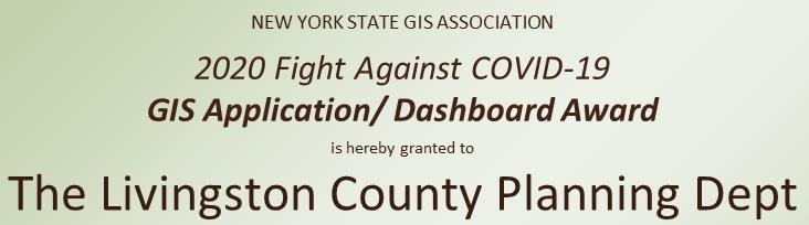2020 Application/Dashboard Winner: Livingston County Planning Department