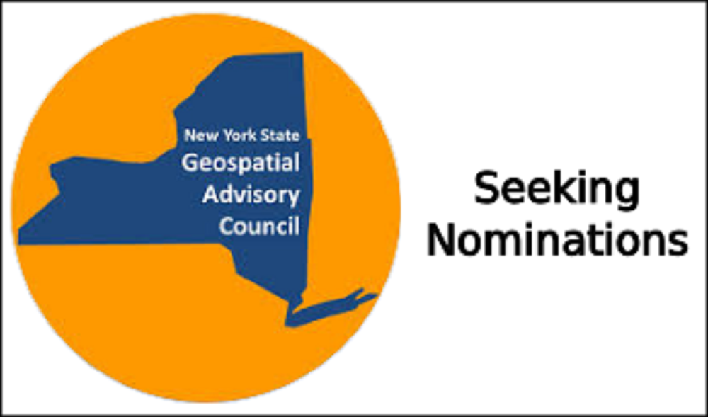 Seeking Nominations for NYS Geospatial Advisory Council