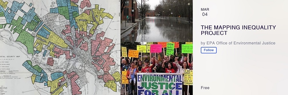 Register now for the EPA's Mapping Inequality Project Event