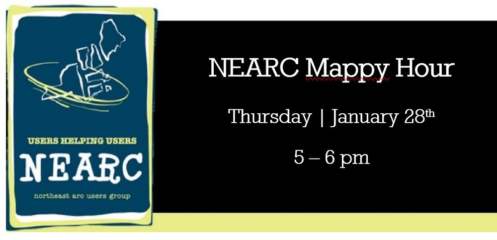 Registration Open for NEARC's New Year Mappy Hour