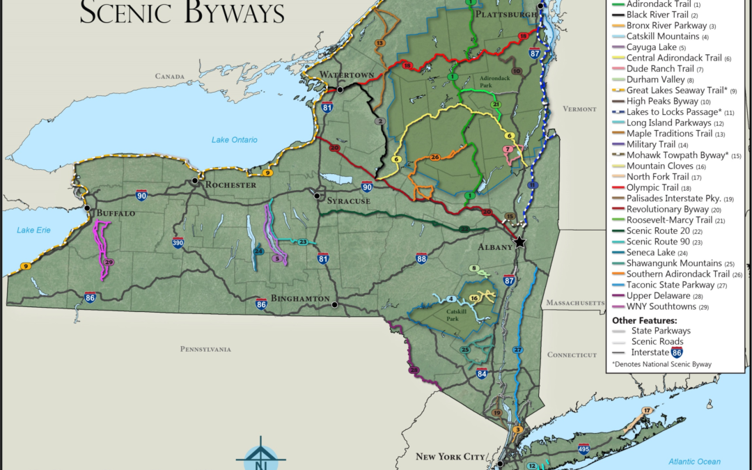 eSpatially – Celebrating – and Visualizing – New York State Scenic Byways
