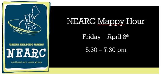 NEARC MAPPY HOUR APRIL 8!!!