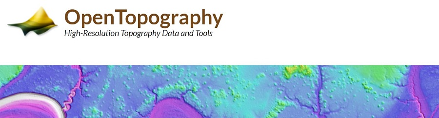 USGS 3DEP Standard DEMs now available via OpenTopography
